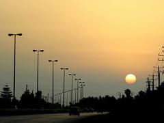 Sunset (SinaK) Tags: road sunset sun iran شمال ايران جاده غروب noshahr chalous نوشهر abigfave sinak photobysinakavian