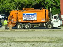 MDC Environmental Services Autocar WXLL E-Z Pack Goliath REL 30076 (PublicServiceEquipmentFan) Tags: trash truck rear environmental pack rubbish end ez waste refuse loader recycling goliath services rl sanitation rel mdc yardwaste 30076