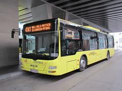 Postbus 8596 Innsbruck Hbf (Arthur-A) Tags: man bus buses austria tirol oostenrijk autobus vvt tyrol innsbruck ikb bussen ivb autrice innbus