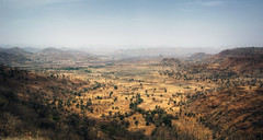 Ethiopia Landscape (mariusz kluzniak) Tags: africa mountains yellow landscape view sony dry east hills valley ethiopia alpha eastern plain 77 simian a77 simien