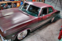 '65 Impala (James Boyles) Tags: red chevrolet vintage memphis impala 1965 fauxvintage