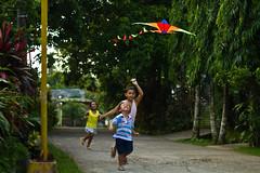 simple joys (roliverjvergara) Tags: kite canon children fun toys play childphotography playingkids ef50mm18ii eos7d alfonsocavite