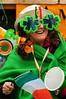 Happy St. Patrick's Day (5ERG10) Tags: park uk greatbritain flowers portrait england irish woman green london smile face sergio hat saint smiling closeup lady female hair nose glasses costume eyes nikon europe day mask unitedkingdom drum head flag decoration patrick parade celebration event telephoto eyebrow nikkor clover saintpatricks londra 28300mm sfilata d300 stpatrick'sday amiti 5erg10