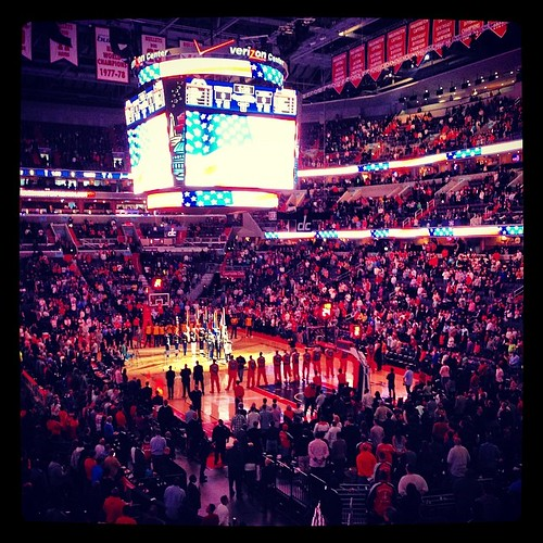 Verizon Center, 7:01 pm, March 28, 2014. #Wizards, #Pacers, #Basketball, #America.