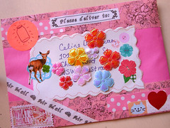 (sarah-wynne.com) Tags: pink cute glitter vintage paper spring lace pastel letters stationery snailmail penpals