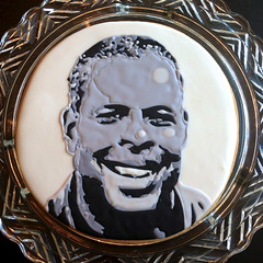 8 x 8 Cookie Portrait of Dave Sanford