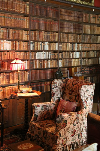 Kingston Lacy's reading room