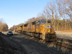 Norfolk Southern Chicago Line (codeeightythree) Tags: railroad chicago ns norfolk indiana line southern prairie rolling