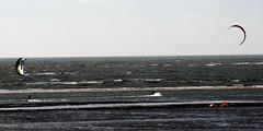 Kitesurfers (billnbenj) Tags: kitesurfing cumbria turbine barrow windturbine windfarm kitesurfer irishsea walneyisland earnsebay