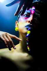 type II style 08 (Jef Harris) Tags: portrait fashion lights hands colorful shadows ottawa homestudio nikond7000