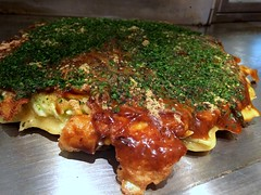 Okonomiyaki from Sante Akira @ Roppongi (Fuyuhiko) Tags: from tokyo roppongi  akira okonomiyaki sante