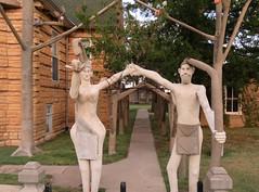 Dinsmoor's Garden of Eden #2 (jimsawthat) Tags: weird folkart outsiderart gardenofeden lucas kansas sculptures smalltown smokyhills