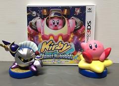 Kirby Planet Robobot + amiibo LOOT! (Luigi Fan) Tags: kirby meta nintendo planet knight 3ds robobot amiibo
