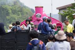 Pink SL at Wakasa Railway (21) (double-h) Tags: sl tottori jnr steamlocomotive c12   eos6d   pinksl wakasarailway  c12 ef100400mmf4556lisiiusm c12167 wakasastation classc12 c12 sl