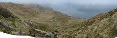 Ben Lomand Panorama - Looking back down the path towards Loch Lomand (nic0704) Tags: blue mountain climb scotland bell ben walk hill rocky hike ridge summit loch ptarmigan bluebell hillwalking lomand munro trossoch