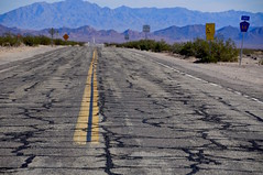 Route 66 in South California (faungg's photos) Tags: california road ca old travel usa us route66 roadtrip surface  ontheroad    66