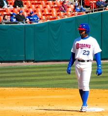 b6215 Dalton Pompey (sabre11richard) Tags: minor league baseball international triple affiliate toronto blue jays herd aaa