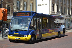 Konectbus 950 AU07KMM (Will Swain) Tags: norwich 14th may 2016 bus buses transport travel uk britain vehicle vehicles county country england english south east city centre norfolk anglia goahead group konectbus 950 au07kmm