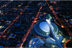 stade olympique montreal (that moment) Tags: sky montreal aerialview