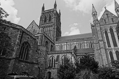 Worcester Cathedal, England. (mattgilmartin) Tags: