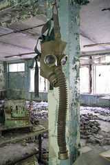 Gas mask, Pripyat (Sean Hartwell Photography) Tags: abandoned decay explosion nuclear ukraine disaster gasmask 1986 sovietunion ussr cccp chernobyl urbex pripyat canon6d tamron18300mm