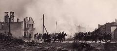 Polish Calvary moves through the bombed town of Mokra. 1939. [2598x1130] #HistoryPorn #history #retro http://ift.tt/1NSOUJo (Histolines) Tags: history town polish retro timeline through bombed 1939 moves calvary vinatage mokra historyporn histolines 2598x1130 httpifttt1nsoujo