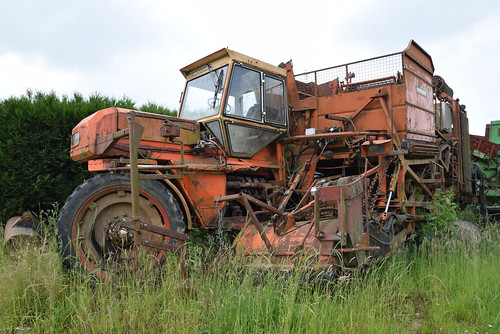 Old Potato Harvester