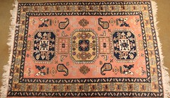 40. Semi-Antique Hand Tied Area Rug