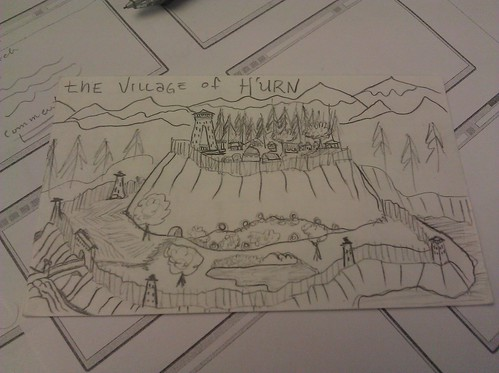 The village of H'urn