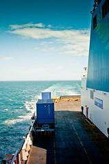 Picton to Wellington (Mathieu Chardonnet) Tags: new zealand south island ferry inter islander wellington picton cook straight