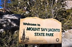 Welcome to Mount San Jacinto State Park (Blue Rave) Tags: hills mountains nature trees palmsprings park california sign hike hiking mountsanjacinto mountsanjacintostatepark sanjacintomountains