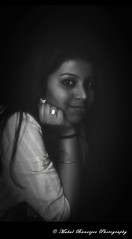 Tania_2(BW) (Mukul Banerjee (www.mukulbanerjee.com)) Tags: light shadow portrait blackandwhite woman india inspiration classic girl beautiful beauty closeup portraits 35mm photography eyes nikon women tanya bokeh pics head sister candid gorgeous delhi indian style images photographs dslr tania newdelhi closer bengali d300 maumita bymukulbanerjee mukulbanerjee mukulbanerjeephotography mukulbanerjeephotography wwwmukulbanerjeecom wwwmukulbanerjeecom