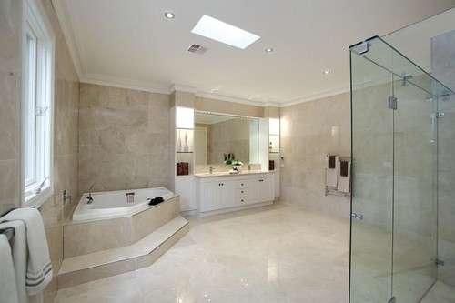McMansion bathroom