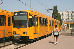 BKV 1531 [Budapest tram] (Howard_Pulling) Tags: pictures summer canon photo hungary photos budapest picture tram august hannover magyar trams ungarn strassenbahn hungarian stra bkv 2011 1531 6096 duewag 400d tw6000
