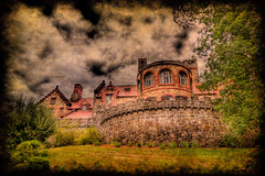 Searles Castle in Windham New Hampshire (Swissrock) Tags: wedding usa castle texture photoshop nikon newhampshire hdr lightroom photomatix tonemapping brikstone searlescastle d700 andykobel