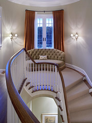 "Curved landing of Main staircase • <a style=""font-size:0.8em;"" href=""http://www.flickr.com/photos/75603962@N08/6902242632/"" target=""_blank"">View on Flickr</a>"