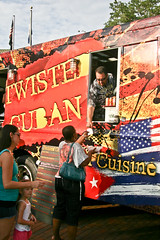 Twisted Cuban for One Crazy Cuban (TW Collins) Tags: food cuisine florida gourmet bazaar awareness cuban kissimmee breastcancer firstfridays foodie foodtruck markbaratelli onwheels thedailycity 1crzqbn foodtruckbazaar theateamrallyingforaurelia thefoodtruckbazaar twistedcuban 1lvdqbn