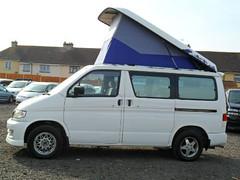 $(KGrHqJHJCoE9!Npbh)hBPYQ8R1whQ~~_12 (importedjapanesecars) Tags: auto new white colour diesel bongo fresh bumper matching shape mazda camper import beautifull mpv in 24litre freetop friendee