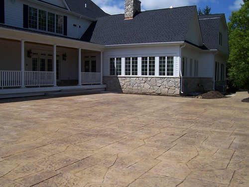 "Stamped Concrete Patio • <a style=""font-size:0.8em;"" href=""http://www.flickr.com/photos/76775226@N06/7036993057/"" target=""_blank"">View on Flickr</a>"
