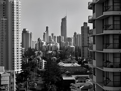 gold coast scape (Fat Burns) Tags: city holiday australia resort queensland surfersparadise goldcoast broadbeach