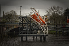 Failure to launch (David C Laurie) Tags: life orange scotland boat glasgow lifeboat thunderbirds launch freefall