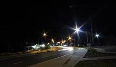Highway (Trent B Clark) Tags: longexposure night stars highway australia nsw lighttrails katoomba