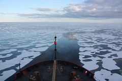 U.S. Coast Guard Cutter Healy in the Beaufort Sea