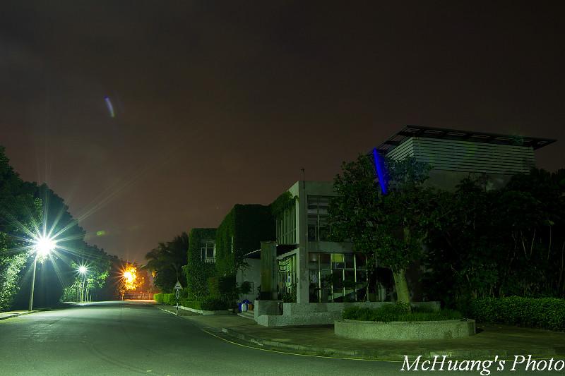 夜景-佳里多摩市