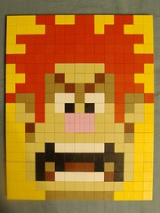 Wreck-it-Ralph LEGO Mosaic (notenoughbricks) Tags: lego disney legomosaic legovideogamemosaic disneywreckitralphmovieposter