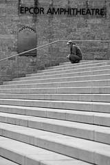 Reserved (stevenbulman44) Tags: lines person blackwhite spring edmonton steps amphitheatre alberta subject epcor