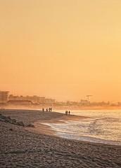 Spanish sunrise (D-Focused) Tags: barcelona santa sea beach sunrise spain nikon susana d90 18105mm