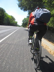 Bear Creek Road tandem ride