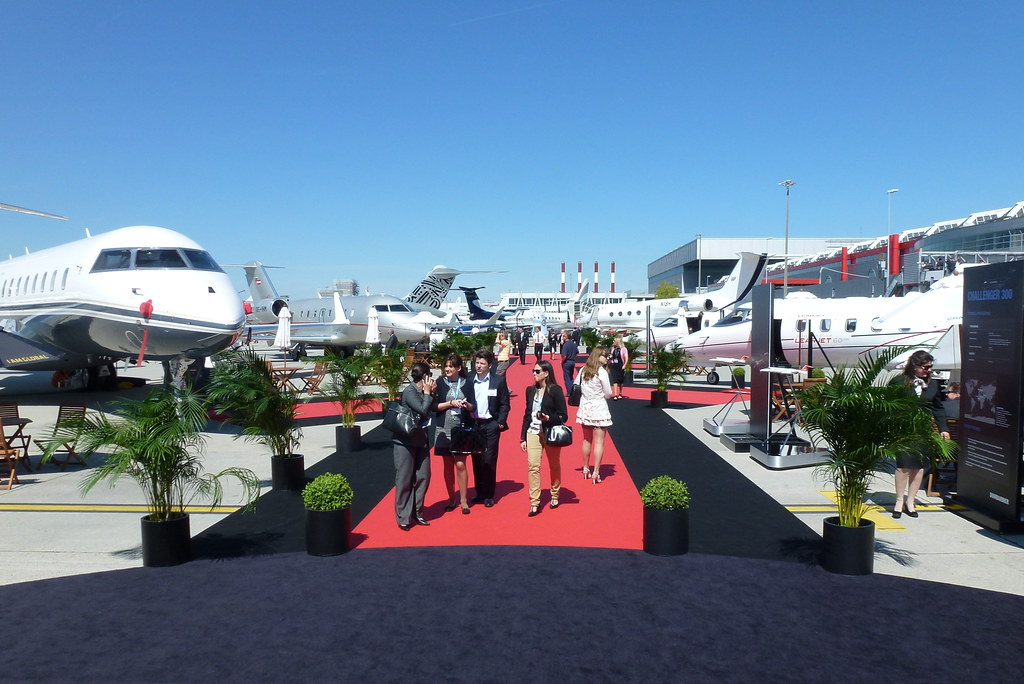 Bombardier Static Display EBACE 2012