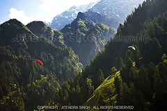 Paragliding in Manali, Himachal Pradesh, India (Jitendra Singh : Indian Travel Photographer) Tags: travel blue sky people india mountains colour tree green tourism nature clouds landscape outdoors photography freedom nationalpark scenery asia day flight fulllength adventure direction journey jungle harmony leisure paragliding glider majestic viewpoint discovery idyllic vacations carefree enjoyment birdseyeview pilot himachal himalayas onthemove scenics thrill parachute distant contemplation himachalpradesh marhi rohtang absence admiration in adrenalin solangvalley traveldestinations snoe highflight unrecognisableperson weekendactivities adventuresport horizonoverland greaterhimalayanrange paraglidinginmanali flyingmanali shortflying jitenscomjitensjitensmailjitendrasingh handgliging solangoneperson